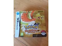 Nintendo ds game - Pokemon heartgold with pokewalker