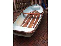 12 FT Fibreglass Rowing Boat / Tender