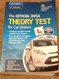 The official DVSA Theory Test for car drivers book