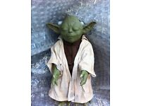 "YODA (STAR WARS), HASBRO 2005, 12"" TALKING, AND MOVING, FIGURE - COLLECTABLE, GOOD CONDITION"