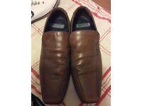 Burton brown shoes size 7