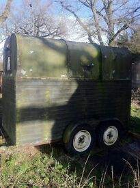 Old Horse Box