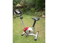 OneBody exercise bike, great condition, digital monitor etc