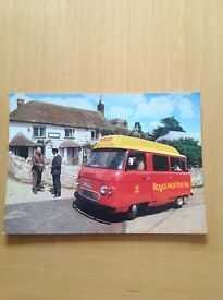 Postcard of a postbus