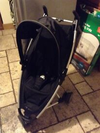 Quinny Zapp Buggy with rain cover