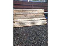 Reclaimed timber battens