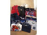 Bundle of Boys Clothes Age 5-6