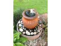 Terracotta water feature