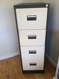 4 Drawer Filing Cabinet in good condition. Full Size - Foolscap