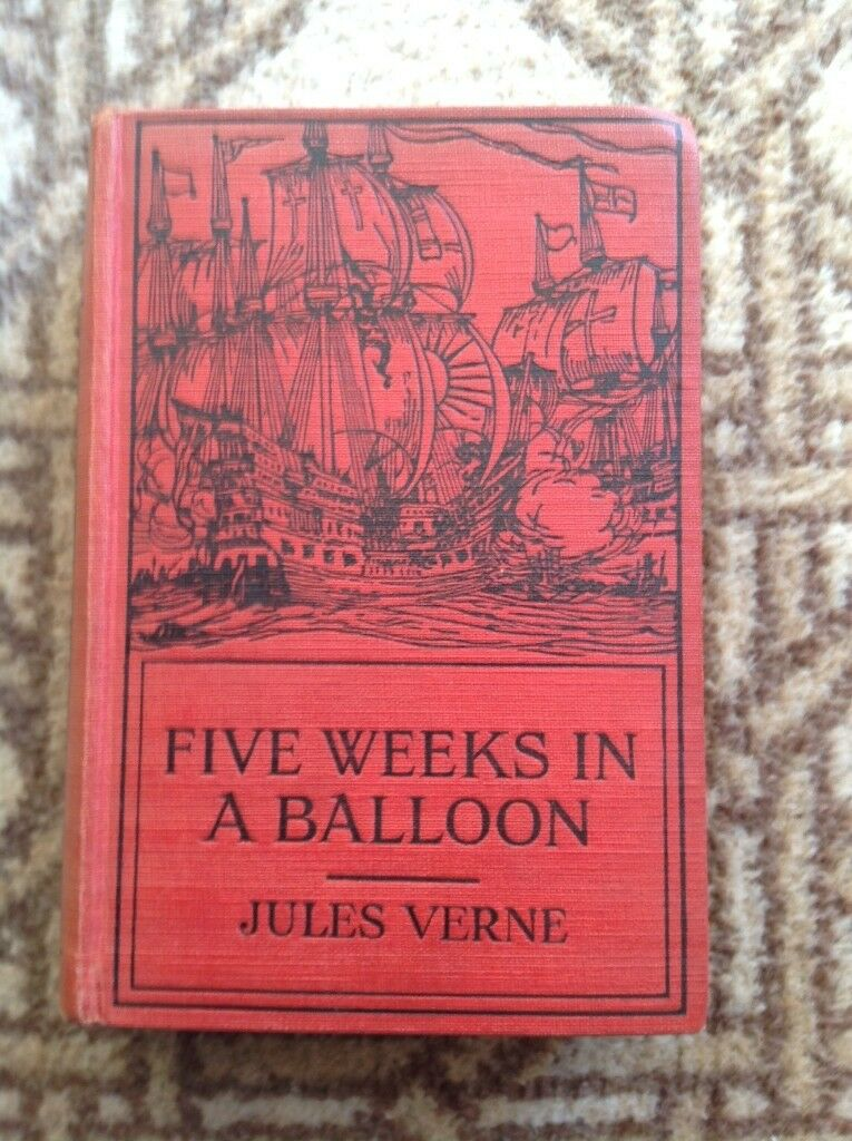 Jules Verne – Five Weeks in a Balloon circa 1931