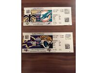 Pair of tickets for Ravens v Jaguars at Wembley September 24th