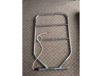 Dimplex heated towel rail chrome in colour 90 watt