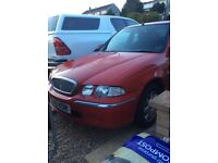 Rover 45 1.8 auto very low mileage