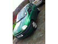 Green Clio 1.2 4door great little car mot 70k
