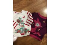 Christmas jumpers, both aged 1-1.5 years
