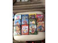 Set of 11 Disney dvds