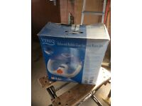 Visiq infra red bubble foot spa with water jets - fully working