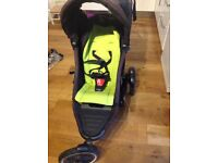 Phil and Ted explorer double buggy / pushchair / pram