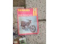Yamaha 250XS new parts