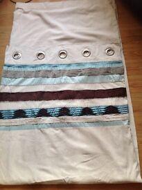 Next Curtains. Excellent condition 166x229cm