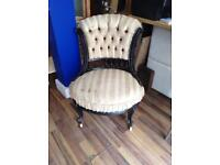Beautiful old Victorian nursing chair/