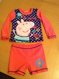 Peppa Pig Sun Protection Suit