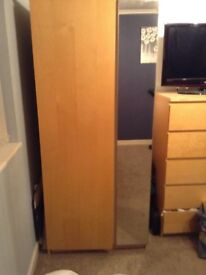 wardrobe,chest of drawers,2 bedside tables