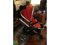 iCandy Peach (2011) Pushchair and Carrycot