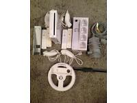 Wii console with loads of extras