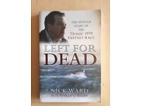Left For Dead (Nick Ward Sinead O'Brien) - Sports Book of the Year - Sailing Yachting Boats