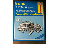 Haynes Workshop Manual For Ford Fiesta Mk 2, 83-89
