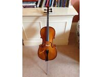 1/8 size cello, ideal for beginner
