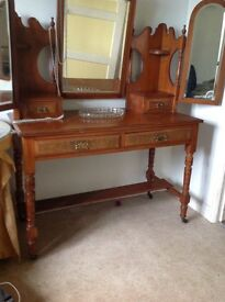 Edwardian dressing table. Wonderful condition for age.
