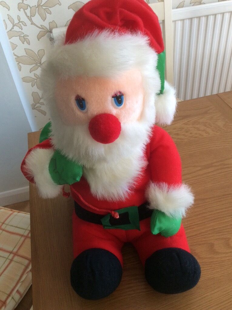 """Squidgy Father Christmas 17"""" CE"""