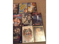 Selection of 15 DVDs and over 30 CDS Included for FREE