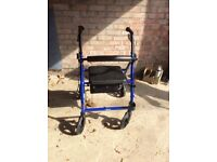 Drive mobility walker. As new ,used only three times.
