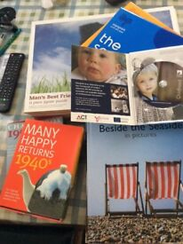Books etc for people living with dementia.