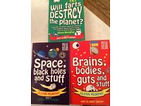Science for kids books by Glenn Murphy set of 3 paperback new books