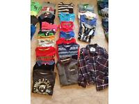 Bargain - brand new - large bundle of boys clothes -(6-7 years) never worn !