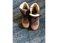 Meindl leather walking boots size 5