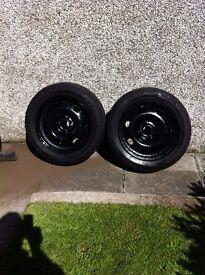 2 X Michelin Primacy Alpin Winter Tyres