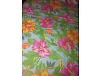 Three quarter size DUVET COVER. Good condition.