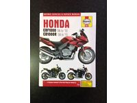 Haynes Manual for Honda CBF1000