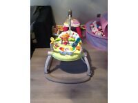 Fisher price space saver jumperoo (like new)