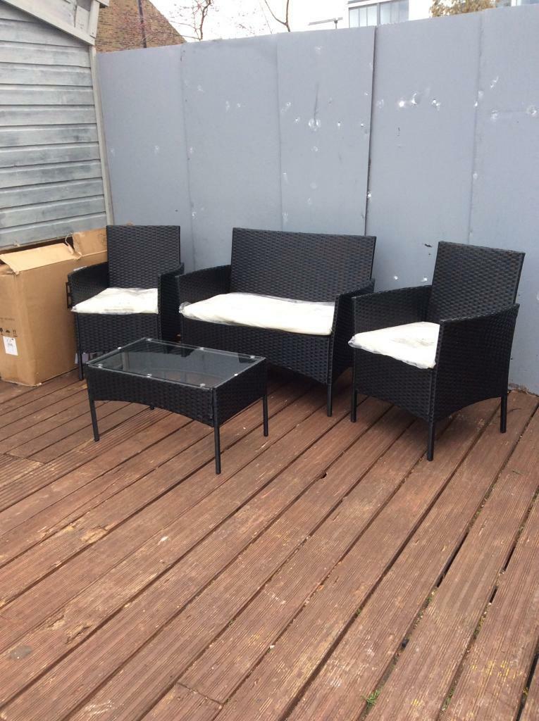Brand New 4 Piece Rattan garden furniture Set | in ...