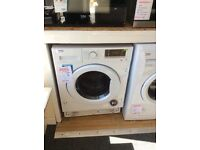 Beko integrated washer dryer new / graded 12 months gtee RRP £499