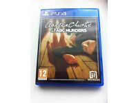 ps4 game Agatha Cristie The ABC MURDERS