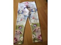 Next girls bunny leggings