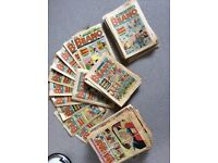 DANDY AND BEANO COMICS AND ANNUALS