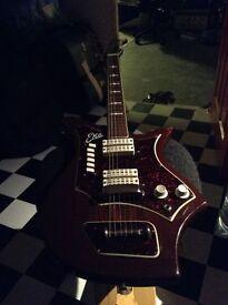 1960's EKO 700-4V guitar (Made in Italy, 1963-1967)